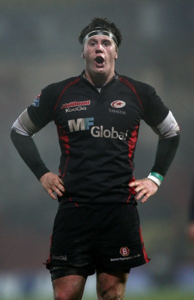 Andy Saull - Amlin Challenge Cup - Pool Three - Saracens v Toulon - Vicarage Road Stadium