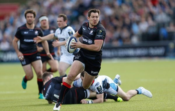 Saracens' Alex Goode during the European Champions Cup, Quarter-Final match at Allianz Park, London