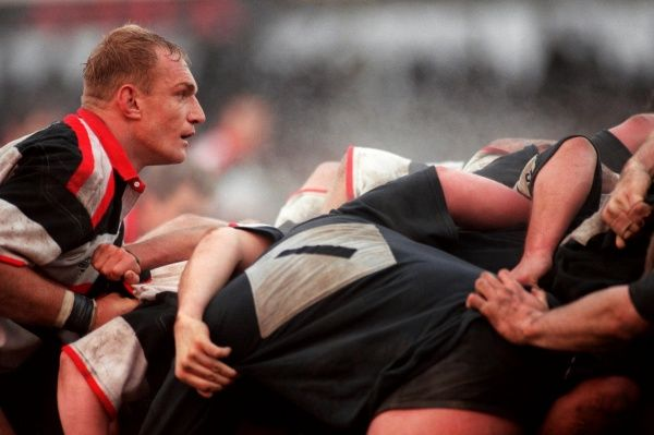 Francois Pienaar in action