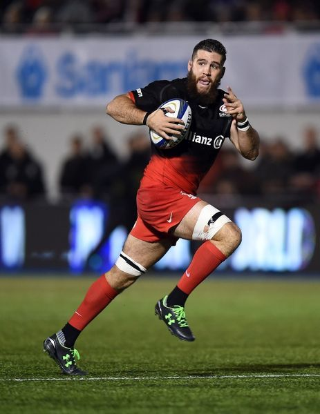 Saracens' Alex Goode during the European Champions Cup, pool one match at Allianz Park, London. PRESS ASSOCIATION Photo. Picture date: Saturday November 14, 2015. See PA story RUGBYU Saracens. Photo credit should read: Andrew Matthews/PA Wire