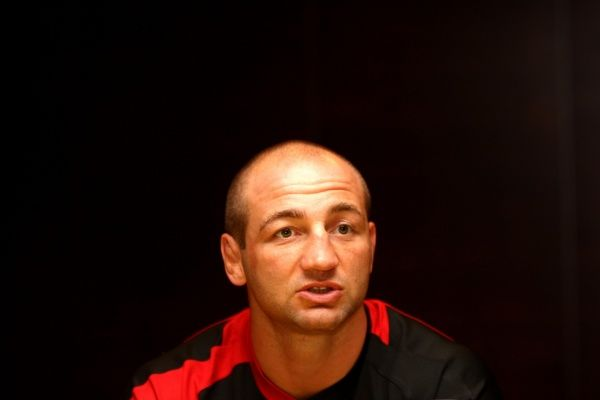 Saracens' Steve Borthwick during the Aviva Premiership launch at Twickenham, London.Aviva Premiership Launch - Twickenham