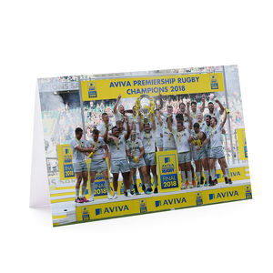 2018 Premiership Winners Greetings Card