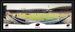30 Inch Panoramic - Home Game at Vicarage Road Vs Gloucester