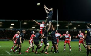 <b>Aviva Premiership - Gloucester Rugby v Saracens - Kingsholm Stadium</b><br>Selection of 3 items