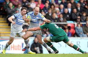 <b>Aviva Premiership : Leicester Tigers v Saracens : Welford Road : 10-05-2014</b><br>Selection of 2 items