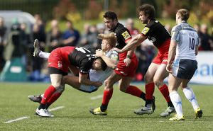 Aviva Premiership - Saracens v Newcastle Falcons - Sandy Park