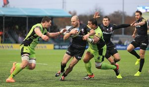 Aviva Premiership - Saracens v Northampton Saints - Allianz Park Stadium