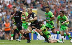 Aviva Premiership - Saracens v Northampton Saints - Twickenham Stadium