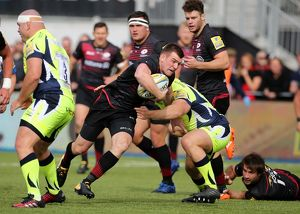 <b>Aviva Premiership - Saracens v Sale Sharks - Barnet Copthall</b><br>Selection of 9 items