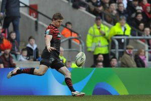 <b>Heineken Cup : Quarter Final : Saracens v Ulster Rugby : Twickenham : 06-04-2013</b><br>Selection of 9 items