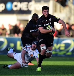 LV= Cup - Pool One - Saracens v Exeter Chiefs - Allianz Park