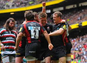 Rugby Union - Aviva Premiership - Final - Leicester Tigers v Saracens - Twickenham
