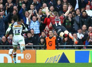 <b>Aviva Premiership : Saracens v Harlequins : Wembley Stadium : 22-03-2014</b><br>Selection of 8 items