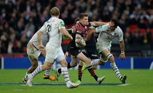 Rugby Union - Heineken Cup - Pool Three - Saracens v Toulouse - Wembley Stadium