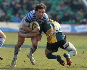 Rugby Union - LV=Cup - Semi Final - Northampton Saints v Saracens - Franklin's Gardens