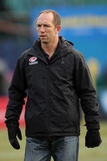 Saracens head coach Brendan Venter