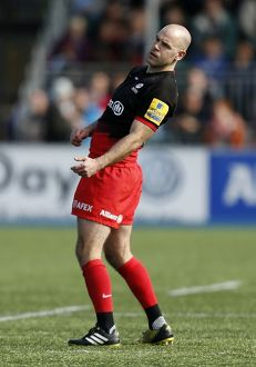 Saracens v Newcastle Falcons - Aviva Premiership - Sandy Park